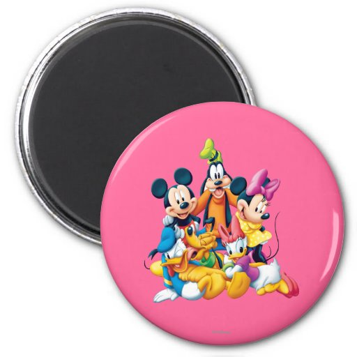 Mickey Mouse & Friends 6 Magnet