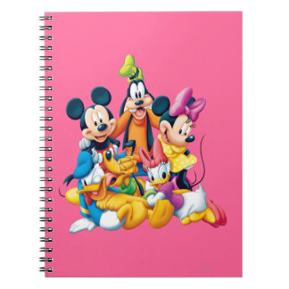 Mickey Mouse Friends 6 Notebook