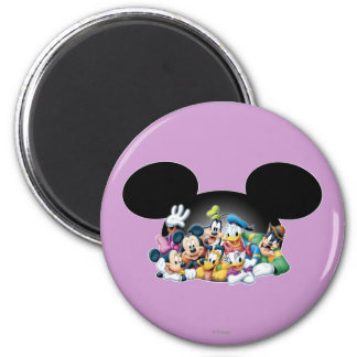 Mickey Mouse Friends 7 Fridge Magnet