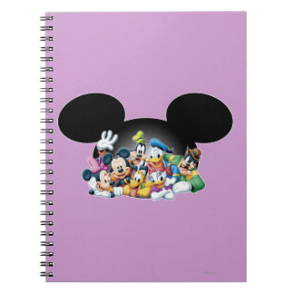 Mickey Mouse Friends 7 Notebook