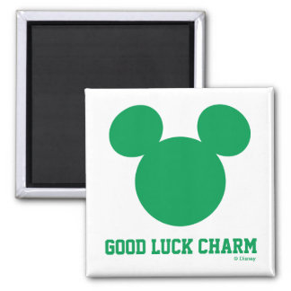 Mickey Mouse Good Luck Charm | St. Patrick's Day Magnet