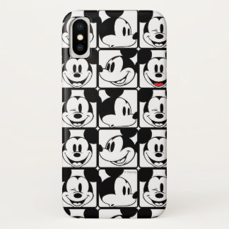 Mickey Mouse | Grid Pattern Case-Mate iPhone Case