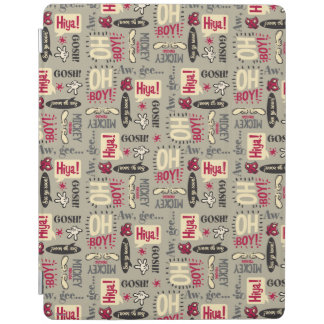 Mickey Mouse Icon Pattern iPad Cover