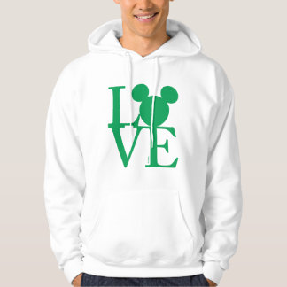 Mickey Mouse LOVE | St. Patrick's Day Hoodie