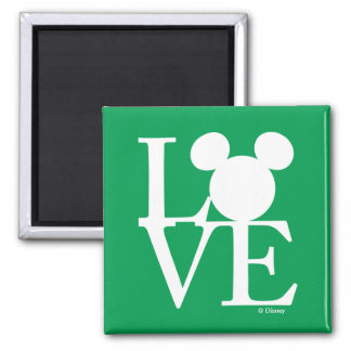 Mickey Mouse LOVE | St. Patrick's Day Magnet
