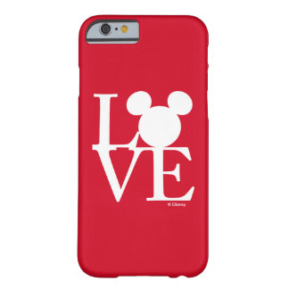 Mickey Mouse LOVE | Valentine's Day 3 Barely There iPhone 6 Case