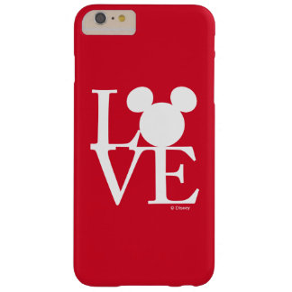 Mickey Mouse LOVE | Valentine's Day 3 Barely There iPhone 6 Plus Case