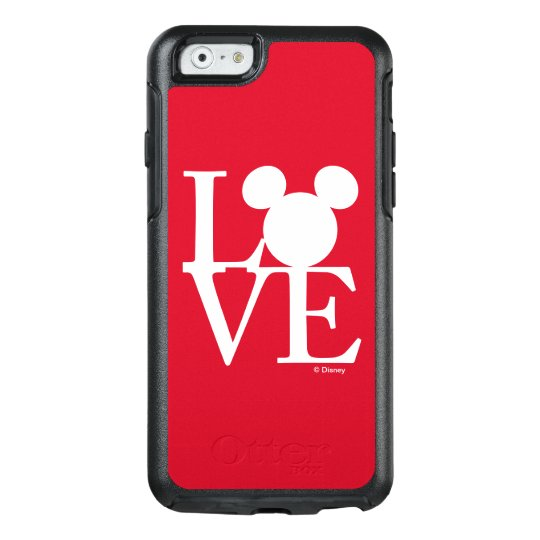 Mickey Mouse LOVE | Valentine's Day 3 OtterBox iPhone 6/6s Case