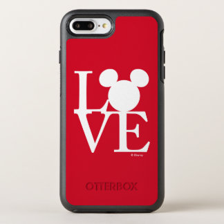 Mickey Mouse LOVE | Valentine's Day 3 OtterBox Symmetry iPhone 8 Plus/7 Plus Case