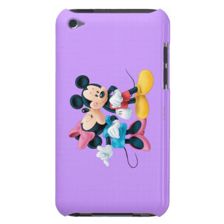 Mickey Mouse & Minnie Barely There iPod Cover
