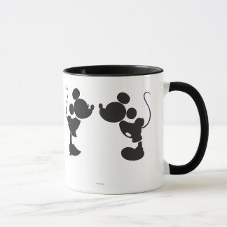 Mickey Mouse & Minnie  Silhouette Mug