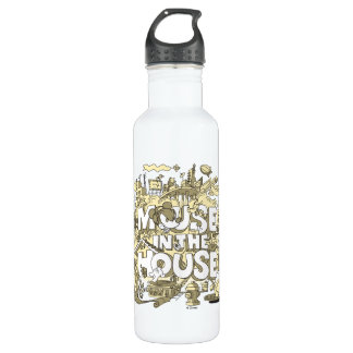 Mickey Mouse | Mouse In The House 710 Ml Water Bottle