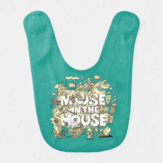 Mickey Mouse | Mouse In The House Bib