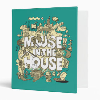 Mickey Mouse | Mouse In The House Binders