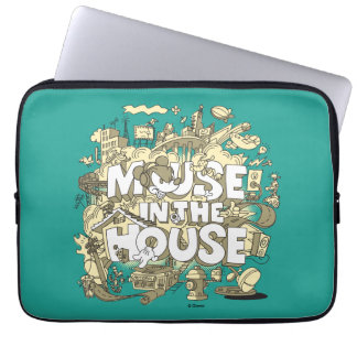 Mickey Mouse | Mouse In The House Laptop Sleeve