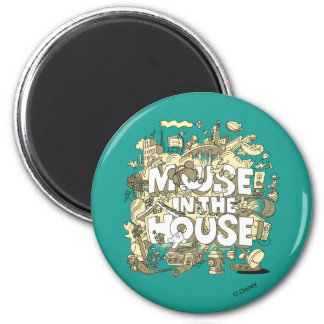 Mickey Mouse | Mouse In The House Magnet