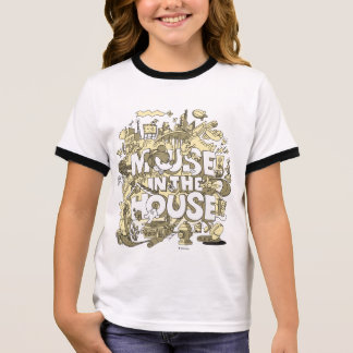 Mickey Mouse | Mouse In The House Ringer T-Shirt
