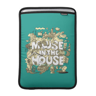 Mickey Mouse | Mouse In The House Sleeve For MacBook Air