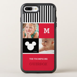 Mickey Mouse | Photos & Monogram OtterBox Symmetry iPhone 7 Plus Case