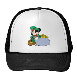 Mickey Mouse Pot of Gold | St. Patrick's Day Trucker Hat