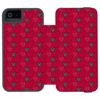 Mickey Mouse Red Pattern Incipio Watson™ iPhone 5 Wallet Case