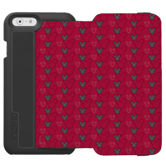 Mickey Mouse Red Pattern Incipio Watson™ iPhone 6 Wallet Case