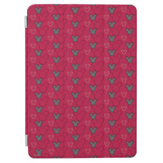 Mickey Mouse Red Pattern iPad Air Cover