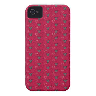 Mickey Mouse Red Pattern iPhone 4 Cases