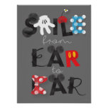 Mickey Mouse | Smile From Ear To Ear Poster