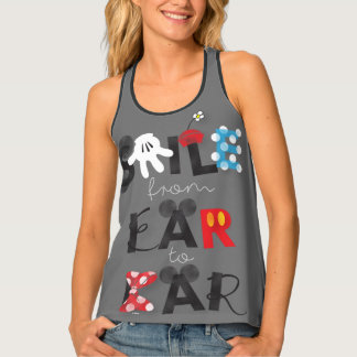 Mickey Mouse | Smile From Ear To Ear Tank Top