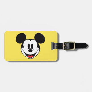Mickey Mouse Smiling Bag Tag