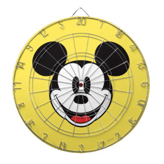 Mickey Mouse Smiling Dartboard