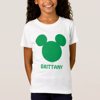 Mickey Mouse St. Patrick's Day | Add Your Name T-Shirt