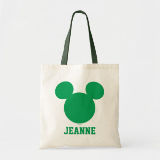 Mickey Mouse St. Patrick's Day | Add Your Name Tote Bag