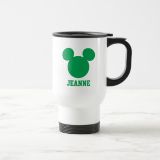 Mickey Mouse St. Patrick's Day | Add Your Name Travel Mug