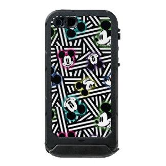Mickey Mouse   Stripe Pattern Incipio ATLAS ID™ iPhone 5 Case