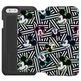 Mickey Mouse | Stripe Pattern Incipio Watson™ iPhone 6 Wallet Case