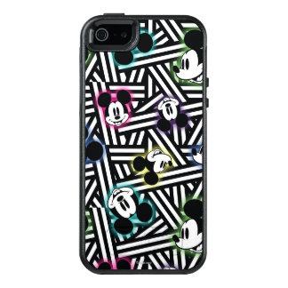 Mickey Mouse   Stripe Pattern OtterBox iPhone 5/5s/SE Case