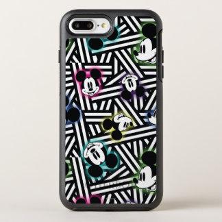 Mickey Mouse   Stripe Pattern OtterBox Symmetry iPhone 7 Plus Case