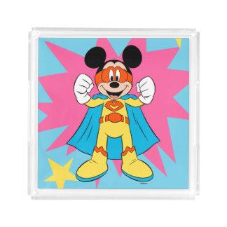 Mickey Mouse | Super Hero Cute Acrylic Tray