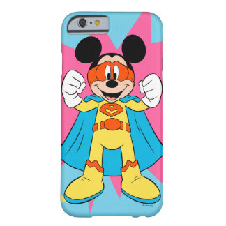 Mickey Mouse | Super Hero Cute Barely There iPhone 6 Case