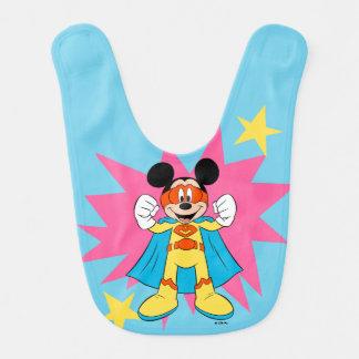 Mickey Mouse | Super Hero Cute Bib