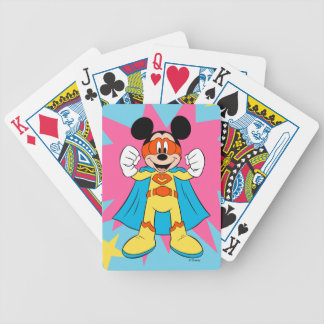 Mickey Mouse | Super Hero Cute Bicycle Playing Cards