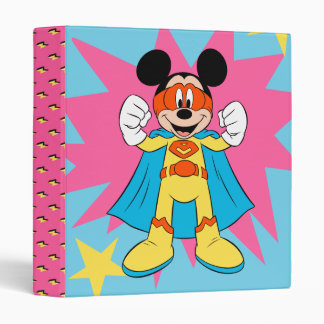 Mickey Mouse | Super Hero Cute Binder