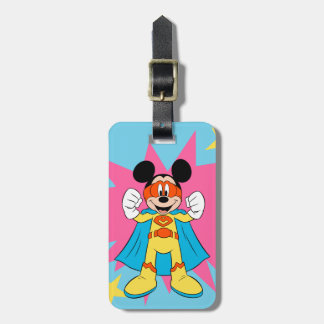 Mickey Mouse | Super Hero Cute Luggage Tag