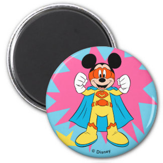 Mickey Mouse | Super Hero Cute Magnet