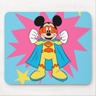 Mickey Mouse | Super Hero Cute Mouse Pad