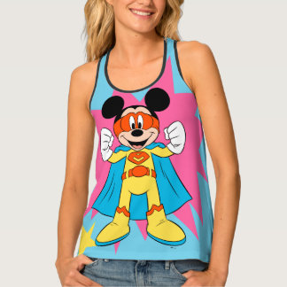 Mickey Mouse | Super Hero Cute Tank Top