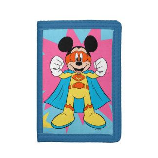 Mickey Mouse | Super Hero Cute Tri-fold Wallets