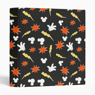 Mickey Mouse | Super Hero Icon Pattern Binders